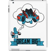 Mudkip Dream Big iPad Case/Skin