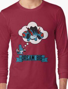 Mudkip Dream Big Long Sleeve T-Shirt