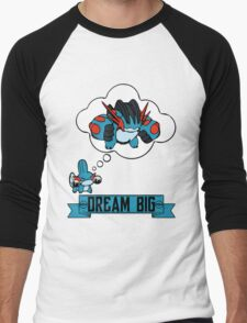 Mudkip Dream Big Men's Baseball ¾ T-Shirt