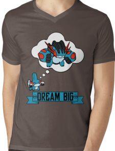 Mudkip Dream Big Mens V-Neck T-Shirt