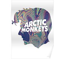 Arctic Monkeys Holographic Poster