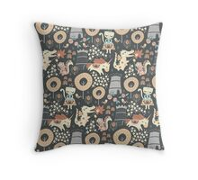 Animal Kingdom  Throw Pillow