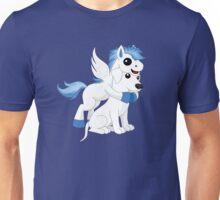 Surprise Pegasus Hug Unisex T-Shirt