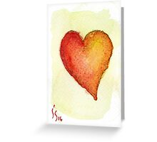 ACEO Heart 4 Greeting Card