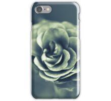 Red Rose in Grey iPhone Case/Skin