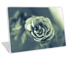 Red Rose in Grey Laptop Skin
