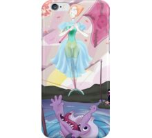Haunted Universe - The Ballerina and THE CROCODIIILE iPhone Case/Skin