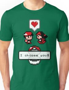 Pokemon Valentine I Choose You!  Unisex T-Shirt