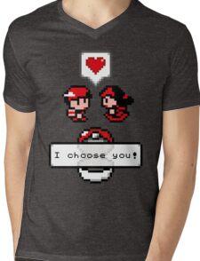 Pokemon Valentine I Choose You!  Mens V-Neck T-Shirt
