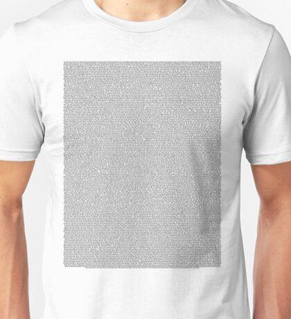 Mean Girls Script Unisex T-Shirt