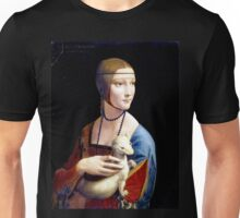 Leonardo da Vinci Lady with an Ermine Unisex T-Shirt