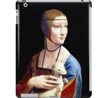 Leonardo da Vinci Lady with an Ermine iPad Case/Skin