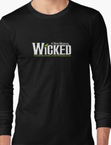 "Shiz University - Wicked ""Elphie"" Version Wicked Musical Long Sleeve T-Shirt"
