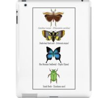 Insect Taxidermy iPad Case/Skin