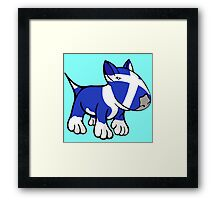 Scottish Bull Terrier Framed Print