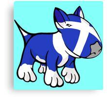 Scottish Bull Terrier Canvas Print