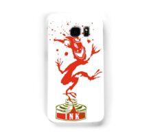 Red Ink Bottle Imp Samsung Galaxy Case/Skin