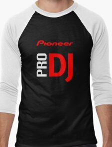 Pioneer Pro DJ Let's Party Like It's Steve Aoki Tis Tis Tis But A Scratch Daft Nuts Men's Baseball ¾ T-Shirt