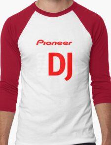 Pioneer Pro DJ Let's Party Like It's Steve Aoki Tis Tis Tis But A Scratch Daft Nuts Men's Baseball ¾ T-Shirt