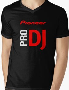 Pioneer Pro DJ Let's Party Like It's Steve Aoki Tis Tis Tis But A Scratch Daft Nuts Mens V-Neck T-Shirt