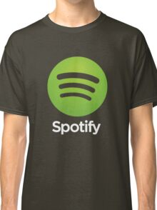 Napster (Original) Spotify Home Is Where The Wifi Is Not Listening Classic T-Shirt