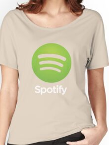 Napster (Original) Spotify Home Is Where The Wifi Is Not Listening Women's Relaxed Fit T-Shirt