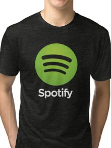 Napster (Original) Spotify Home Is Where The Wifi Is Not Listening Tri-blend T-Shirt