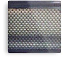 Hexagon mesh 3 - Phlox Metal Print