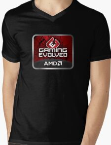 AMD Game PC Master Race Revolution WASD Mens V-Neck T-Shirt