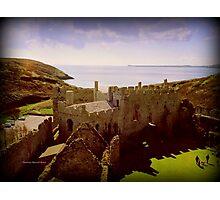 Castle Remains Photographic Print