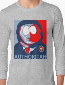 Respect my Authoritah Long Sleeve T-Shirt