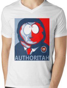 Respect my Authoritah Mens V-Neck T-Shirt