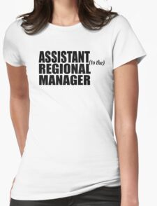 Assistant To The Regional Manager Womens Fitted T-Shirt