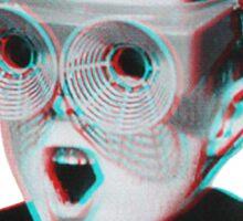 Hardcore Meme Boy (3D vintage effect) Sticker