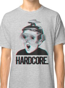 Hardcore Meme Boy (3D vintage effect) Classic T-Shirt