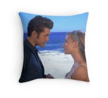 Danny and Sandy (NoCase) ~ Grease Live Throw Pillow