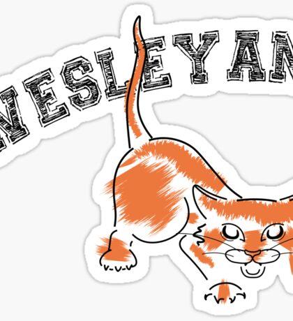 Wesleyan Bobcat Sticker