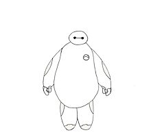 baymax by stickersss