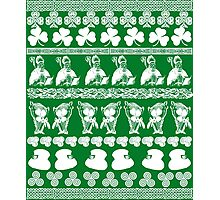 Ugly Irish Sweater for St Patricks Day Photographic Print