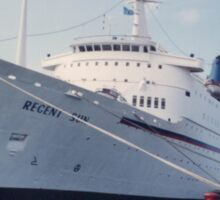 Classic Regent Sun Cruise Ship, Caribbean Sticker