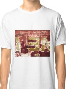 Backside Abstract  Classic T-Shirt
