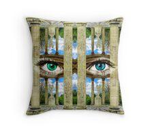 Surrealist Temple of Love Petit Trianon Versailles Paris Throw Pillow