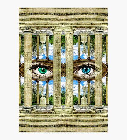Surrealist Temple of Love Petit Trianon Versailles Paris Photographic Print