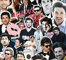 Patrick Dempsey WITH COFFEE by drmedusagrey