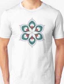 White Hearts Unisex T-Shirt