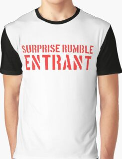 Suprise Rumble Entrant Graphic T-Shirt