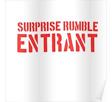 Suprise Rumble Entrant Poster