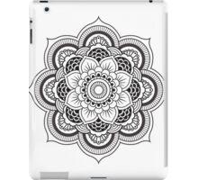 B&W mandala 2.0 iPad Case/Skin