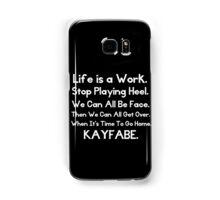 Kayfabe - Biz Terms Samsung Galaxy Case/Skin