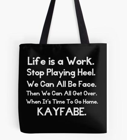 Kayfabe - Biz Terms Tote Bag